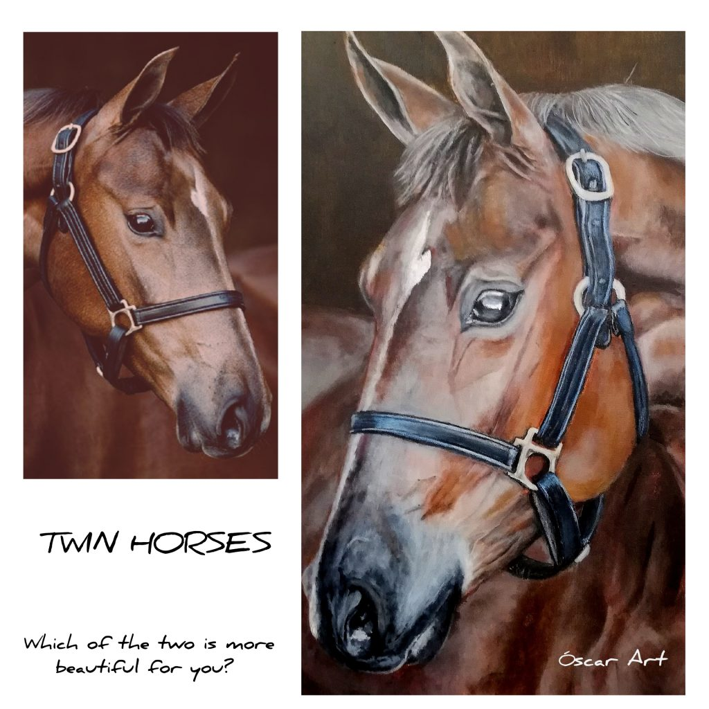 Foto horse comparative