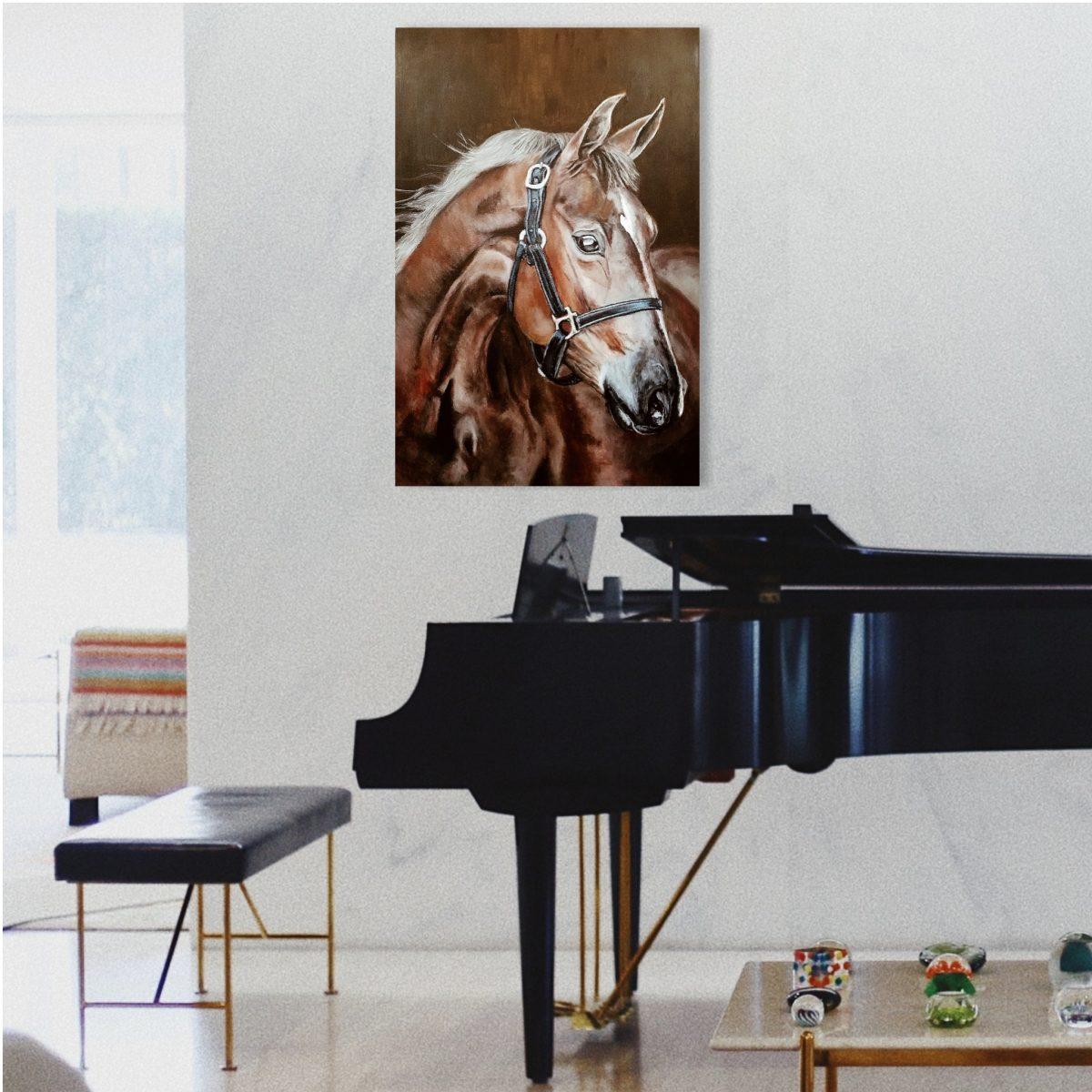 caballo, decoración